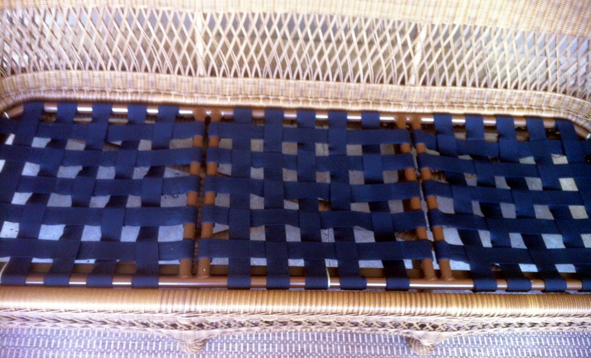Vinyl Strap Repair Furniture Repair Sarasota